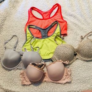Bras and sports bras 34c large